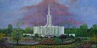 Jordan River Temple in the Garden of Eden